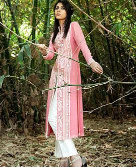 Designer Salwar Kameez, Designer Trouser Kameez, Bollywood Salwar Kameez, Latest Trouser Suits Pink