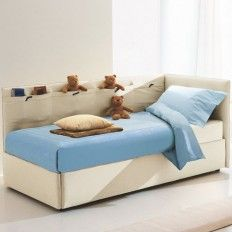 Contemporary Single Beds  Get the bedroom #furniture collection in modern touch for children's, #teenagers including #contemporary #single #beds, double beds etc. Shop at Belvisi Italian Furniture!