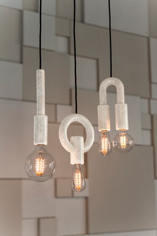 I O N Ceramic Pendant Lights from Porcelain Bear in main home furnishings  Category