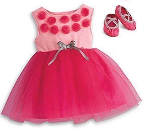 Bitty Baby or Bitty Twin Prima Ballerina Outfit - Tutu & Shoes