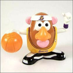 @Overstock - Hasbro sports toy includes 11 slam-dunk pieces  Mr. Potato Head features interchangeable parts  Basketball collectible for kids who don't plan to grow up and adults who didn'thttp://www.overstock.com/Sports-Toys/Los-Angeles-Lakers-Mr.-Potato-Head-Toy/3547904/product.html?CID=214117 $25.99
