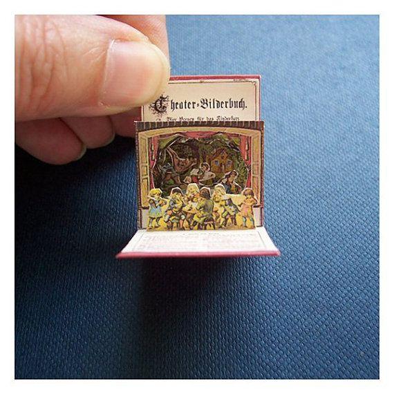 Miniature Pop-Up Book. Aww :]