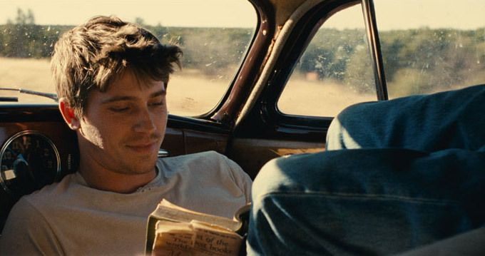 Garrett Hedlund in On the Road (2012) Movie Image