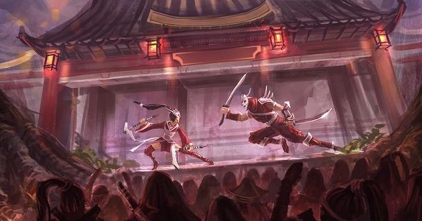 Blood moon akali chinese wallpaper