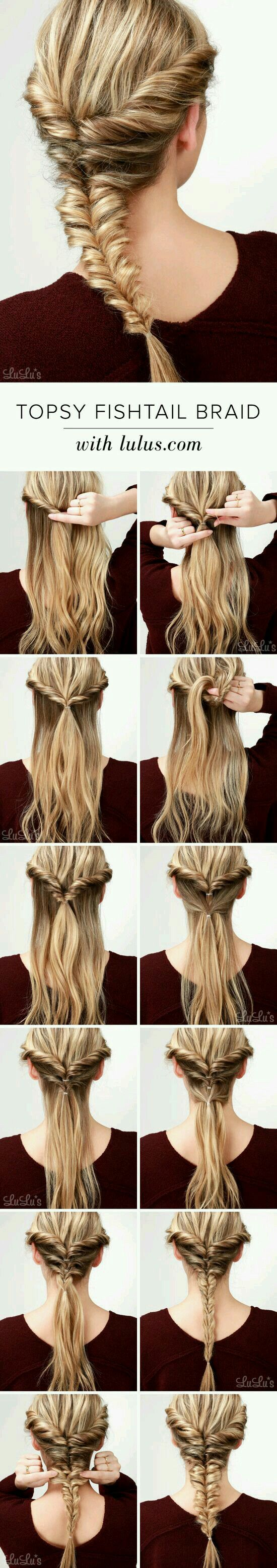 30 Amazing Braided Hairstyles For Medium & Long Hair.