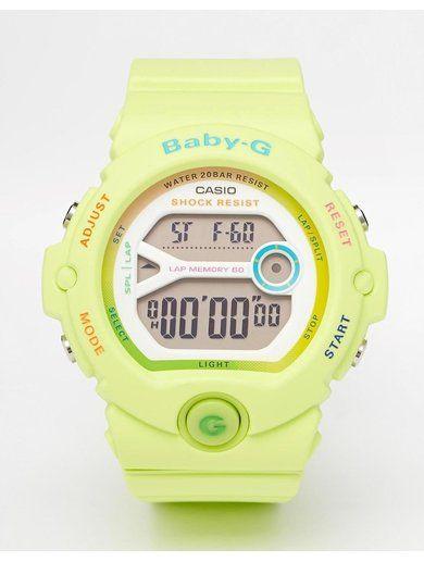 Casio Baby G Bright Green Digital Watch - Green