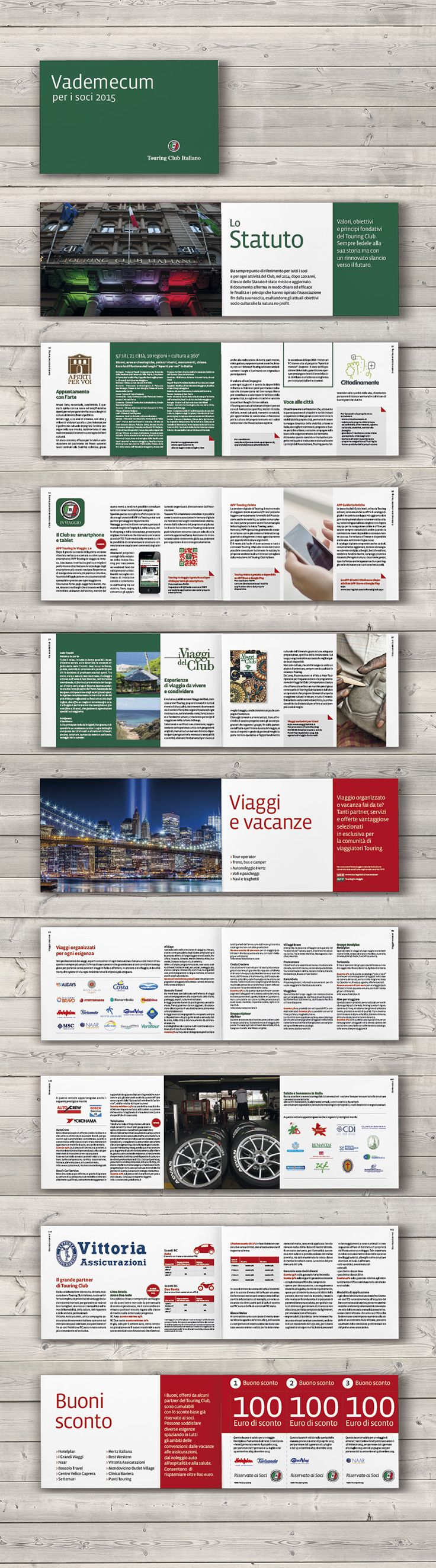 Cover and book design / TCI Offer guide / Touring Editore