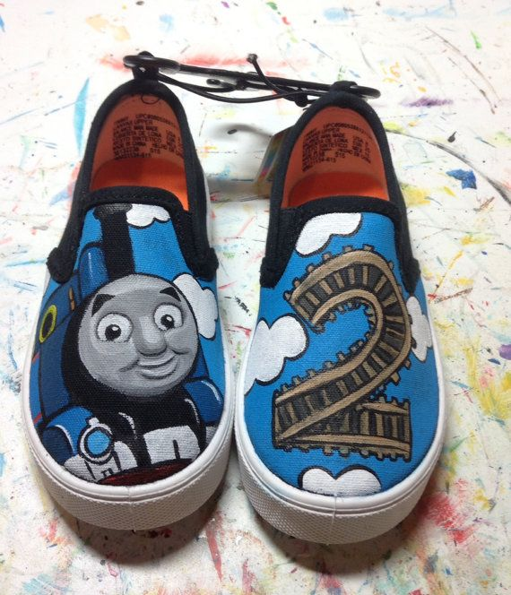 Hey, I found this really awesome Etsy listing at https://www.etsy.com/listing/250484872/thomas-the-train-inspired-custom-painted