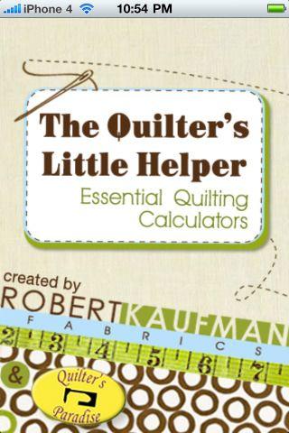 Quilting calculators: Iphone App, Corner Sets, Quilters Calculator, Free Quilt, Quilt Calculator, Essential Quilt, Calculator Yardage, Ipad App, Quilt Fabric