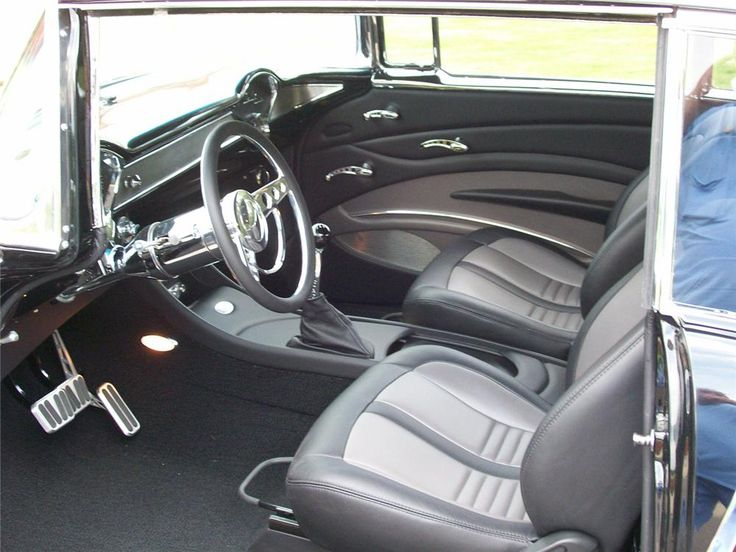 1955 CHEVROLET BEL AIR CUSTOM 2 DOOR HARDTOP - Interior - 65810