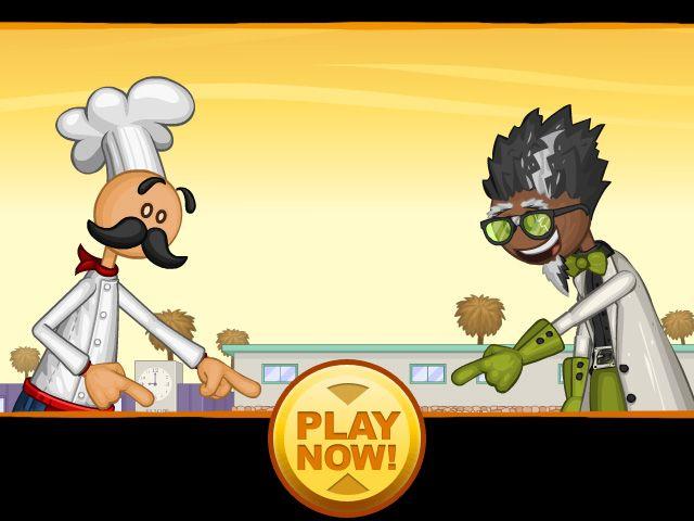 Papa Louie 2 When Burgers Attack Free Flash Game Flipline Studios Cute Texts Tupac Wallpaper Adventure Games