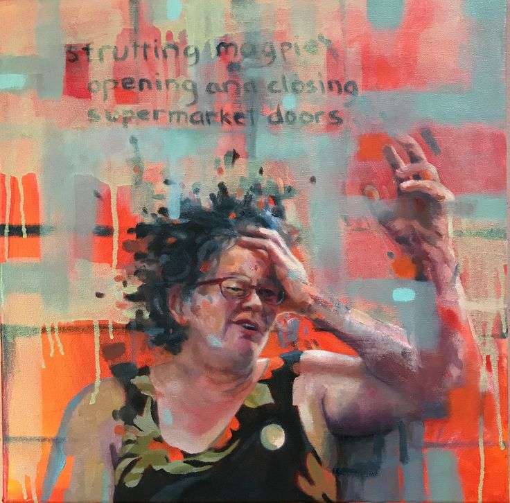 Belinda, 2017, oil on canvas