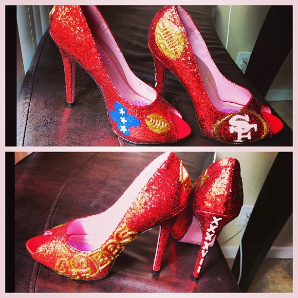 SF 49ers Shoes