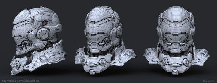 Твердая поверхность 3D моделирование для производства Учебник Чунг Кан | Sci-Fi | 3D | CGSociety