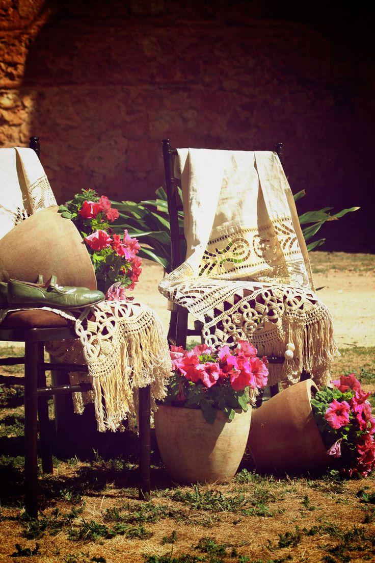 Una decoración perfectas para bodas de inspiración andaluza (Foto, Paty Lipperheide) #weddingdecoration #decoracionbodas #tendenciasdebodas