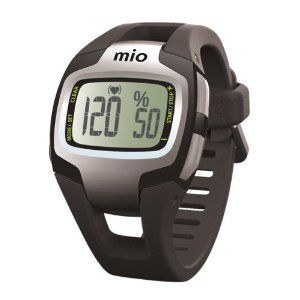 Mio Sport SD Heart Rate Monitor (Black) by Mio. $74.99. Calculates the number of steps taken and the distance traveled. Percentage of maximum heart rate. EKG-accurate heart rate, without a chest strap. Customizable with personal data to ensure accuracy. Chronograph timer, time, date, alarm, 12/24 hour clock with date and weekday. The MIO Sport SD is programmable with your own personal data, making it individually yours. This watch uses Smart Touch Technology to pro...