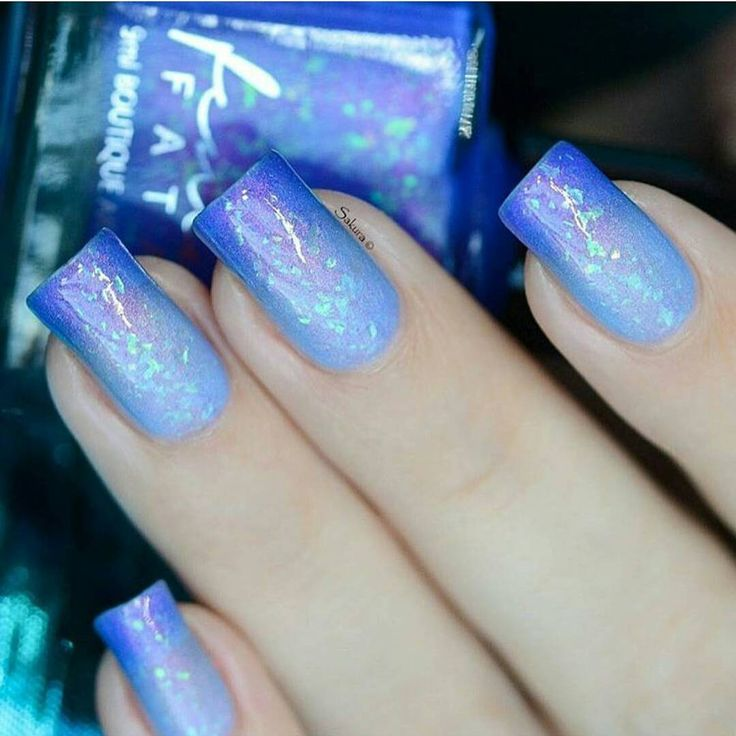 """""""Our Blue Within Blue Eyes thermal now available from @rainbow_c_uk with EU shipping! Swatched by @nailartsakura #femmefatalecosmetics #femmefatale…"""""""