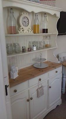 Welsh Dresser Shabby Chic Pine Farmhouse Annie Sloan Original Paint