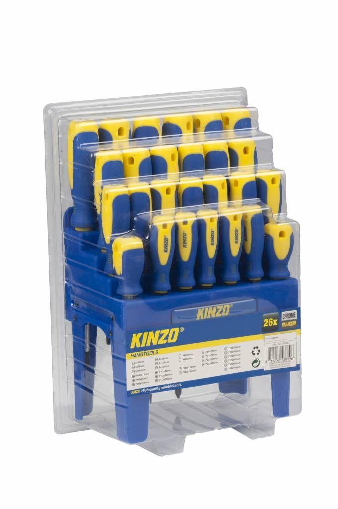 Kinzo 26-delige Schroevendraaier Set #kinzo #gereedschap #schroevendraaierset