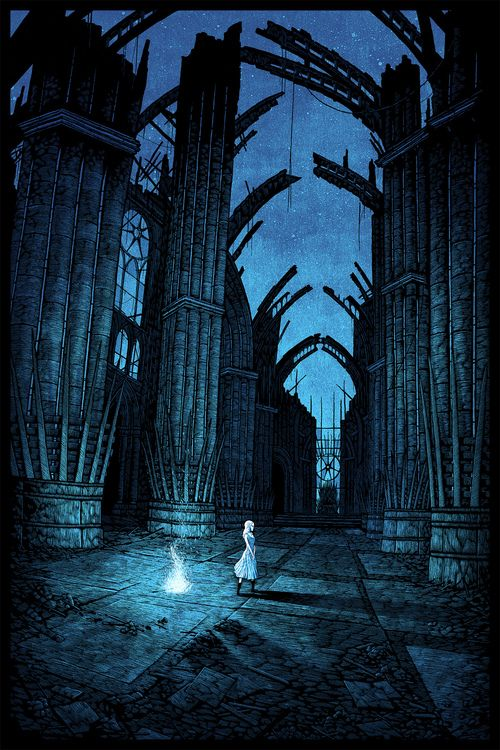 """""""In the house of the undying"""" for HBO & Mondos Game of Thrones gallery event. #agot #asoiaf #got"""