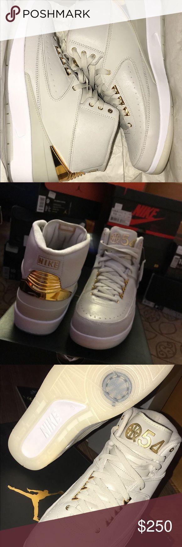 """Air Jordan Retro 2 """"Quia 54"""" Size - 10  DEADSTOCK OG ALL Jordan Shoes Sneakers"""