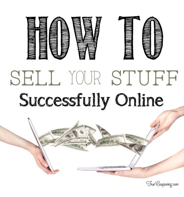 Did you know the average household has $1,000 to $2,000 of potential cash in stuff that they don't use? Learn the easiest tips for selling your stuff online so you can make the most money!
