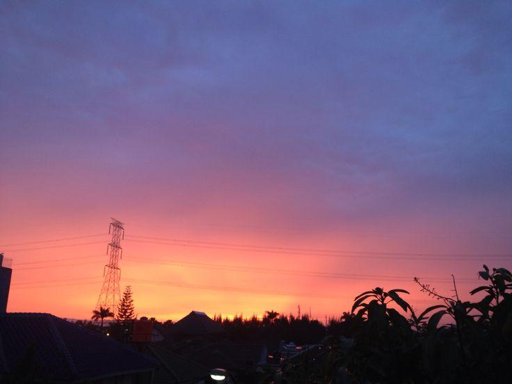 Paddle Pop Sunset