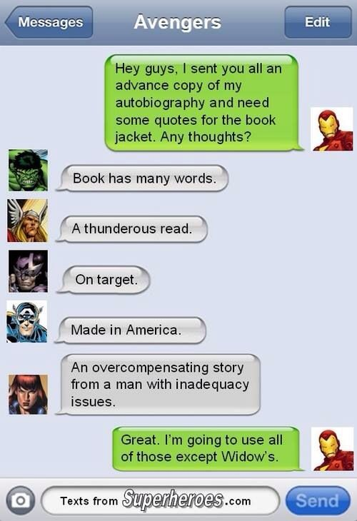 129 best images about Superhero texts on Pinterest
