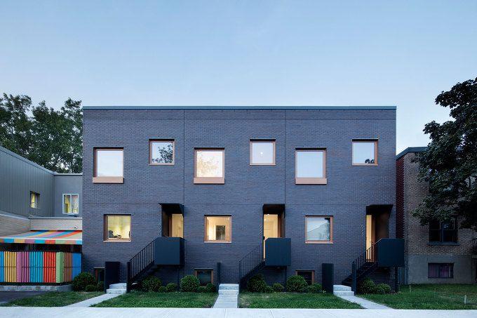*각기 다른 개성으로 통일성을 겸비한 몬트리올 공동주택-[ NatureHumaine ] Marquette Residence :: 5osA: [오사]