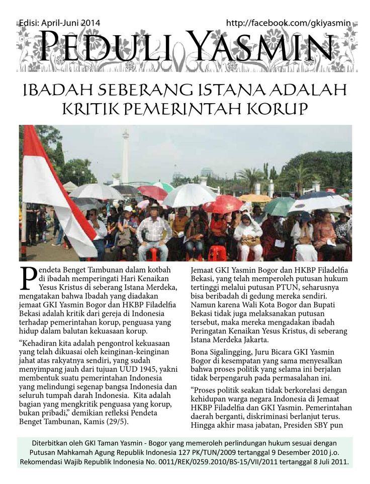 Update Peduli Yasmin Juni 2014