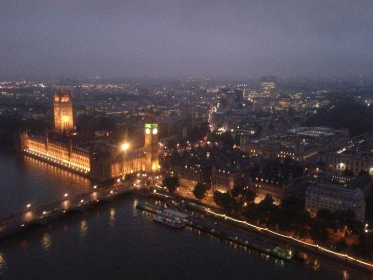 Big Ben, from London Eye