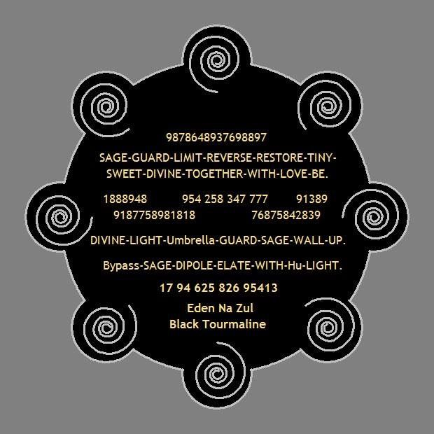 BLACK MAGIC & ALL NEGATIVE ELEMENTS - PROTECTION ENERGY CIRCLE : An ALL-IN-ONE EC for Protection from : - Black Magic - Evil Eye - Curses - Bad Energies in House - Negative intention Elements - Entity release (To ward off ghosts / Evil spirits) & - To get Divine Protection - To get Whole Body Protection You can use by all methods of using an EC.... Fix on a wall of each room and outside of house. with or without name... Print 5 x 5 inches Size minimum... You can also use this EC for…