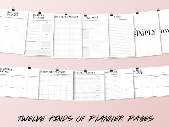 Best 25+ Daily planner pages ideas on Pinterest Planner pages - daily planner sheets