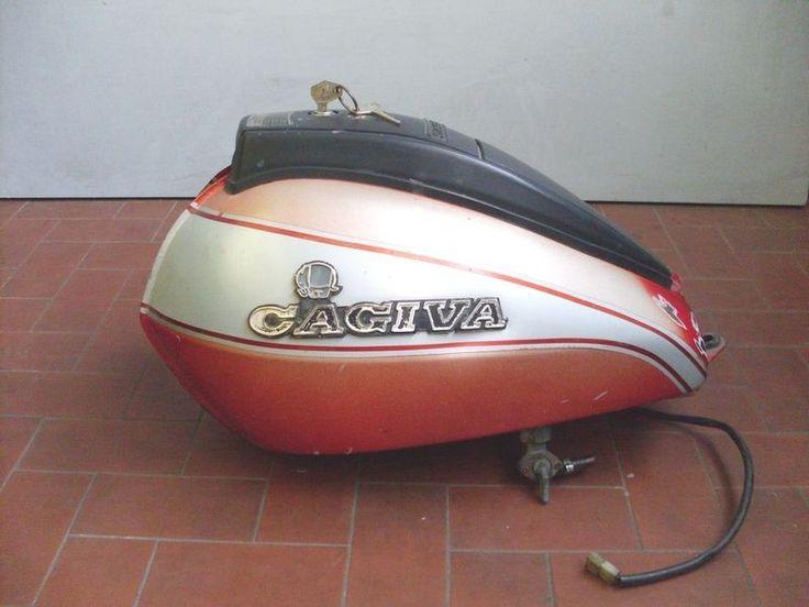 Cagiva Aletta Electra 125 Serbatoio Completo 2 Chiavi Originale Cagiva