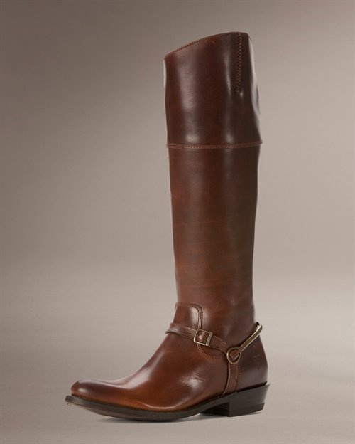 These functional and gorgeous Frye Riding boots ($398.00) scream country glam.