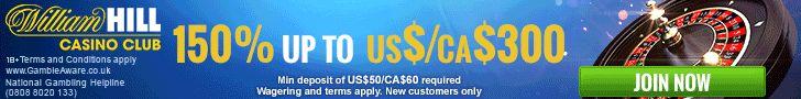 150% UP TO $300 +50 FREE SPINS FIRST DEPOSIT BONUS