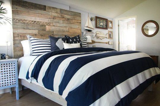 Before & After: A Rustic Nautical Bedroom Makeover Apartment Therapy Blog