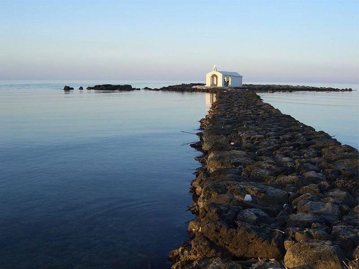 St. Nicholas Chapel, Georgioupolis, Crete, Greece.