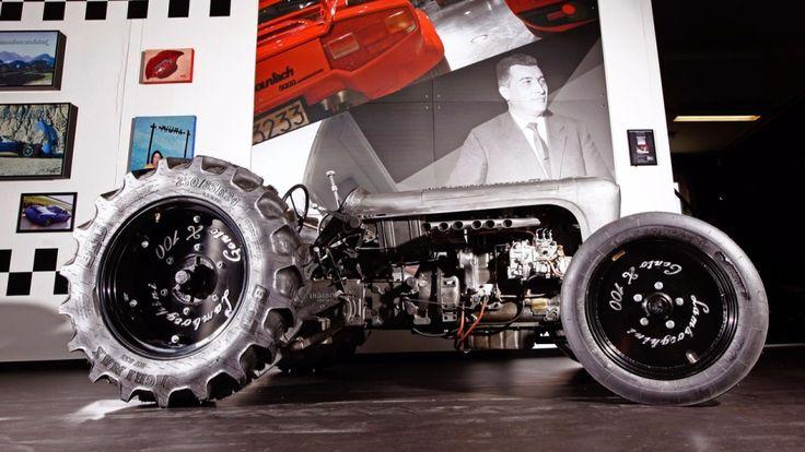 Тракторы построят вчесть столетия содня рождения Ферруччо Ламборгини