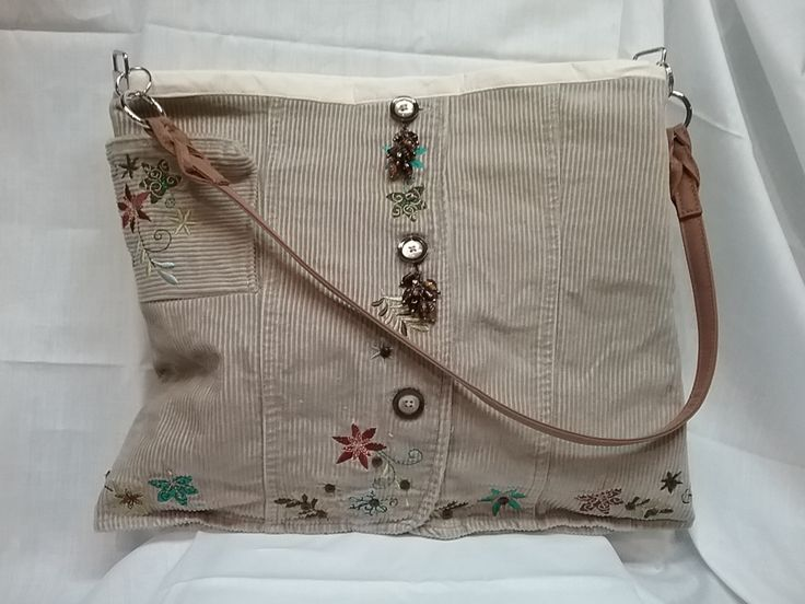 Corduroy Tan Bag Purse Tote Tablet Design and One of a Kind by CoalBankHollowDesign on Etsy