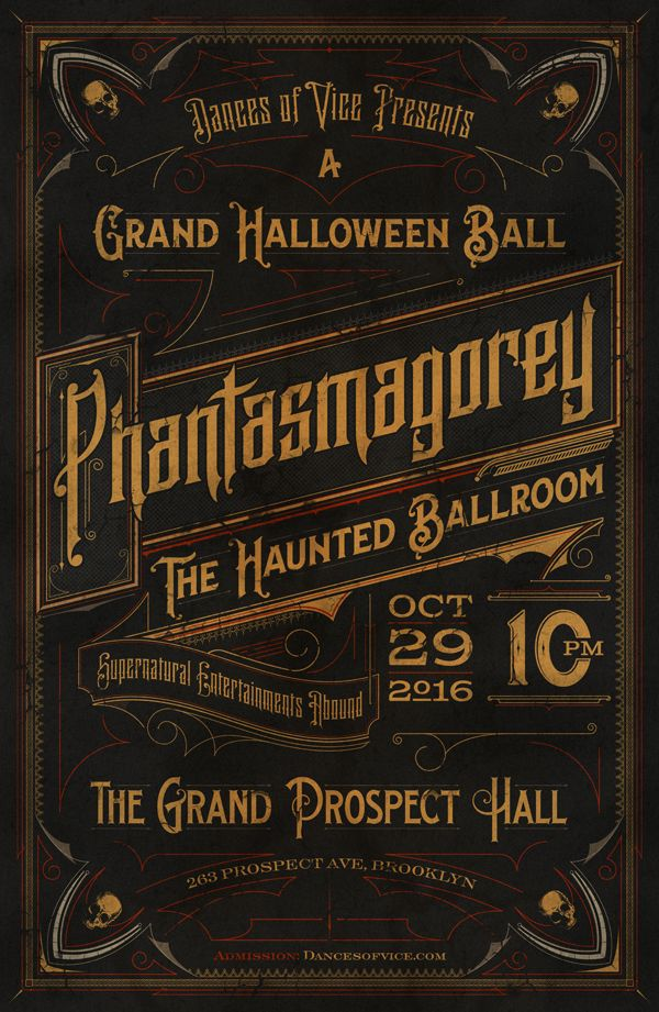 Great project from Tomasz Biernat Typography · Letterpress · 04 - halloween poster ideas