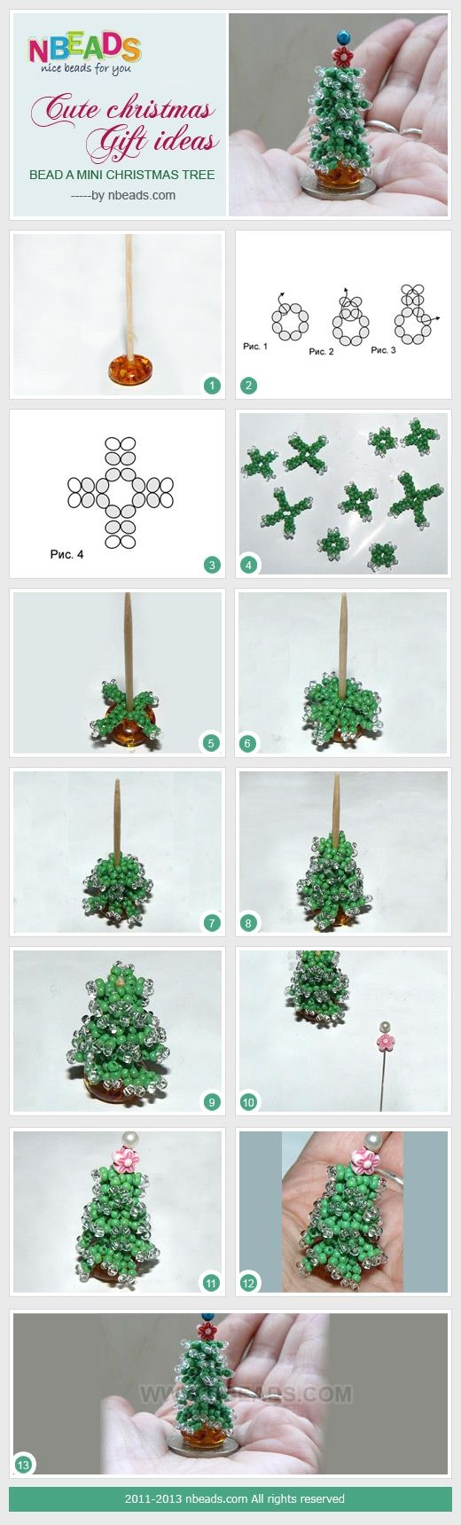 Cute Christmas Gift Ideas - Bead A Mini Christmas Tree – Nbeads
