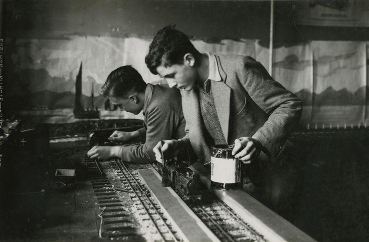 Model Railroad, Mill Hill School, London