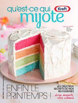 Magazine qu'est-ce qui mijote - Kraft Recipes- Kraft Canada
