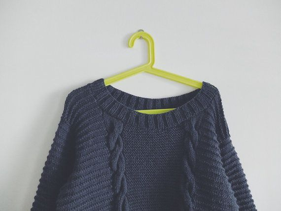 KNIT PATTERN in english and french Sweater ROCKY by MarcelleetClo