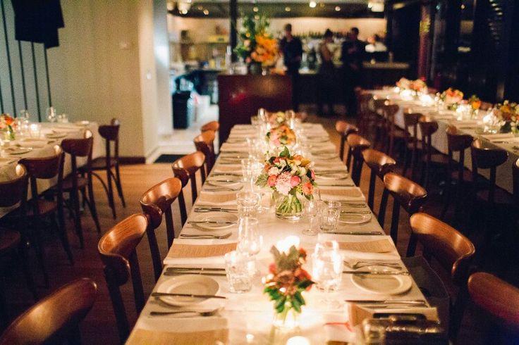 Cafe morso Wedding table Photo credit #studiosomething