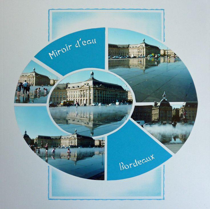 Bordeaux, le miroir d'eau. Gabarit ellipse d'Azza