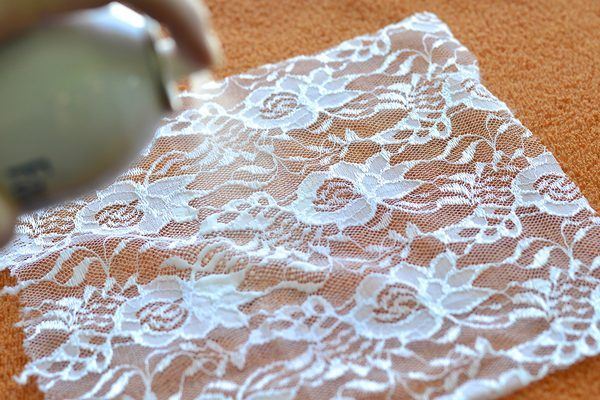 How to Use Lace as a Paint Stencil (with Pictures) | eHow