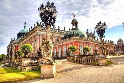 centuriesbehind:  Neues Palais, Potsdam, Germany