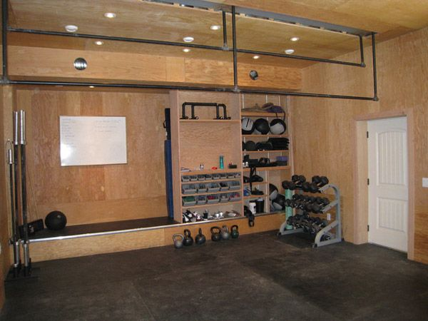 71 Best Images About Garage Gym On Pinterest
